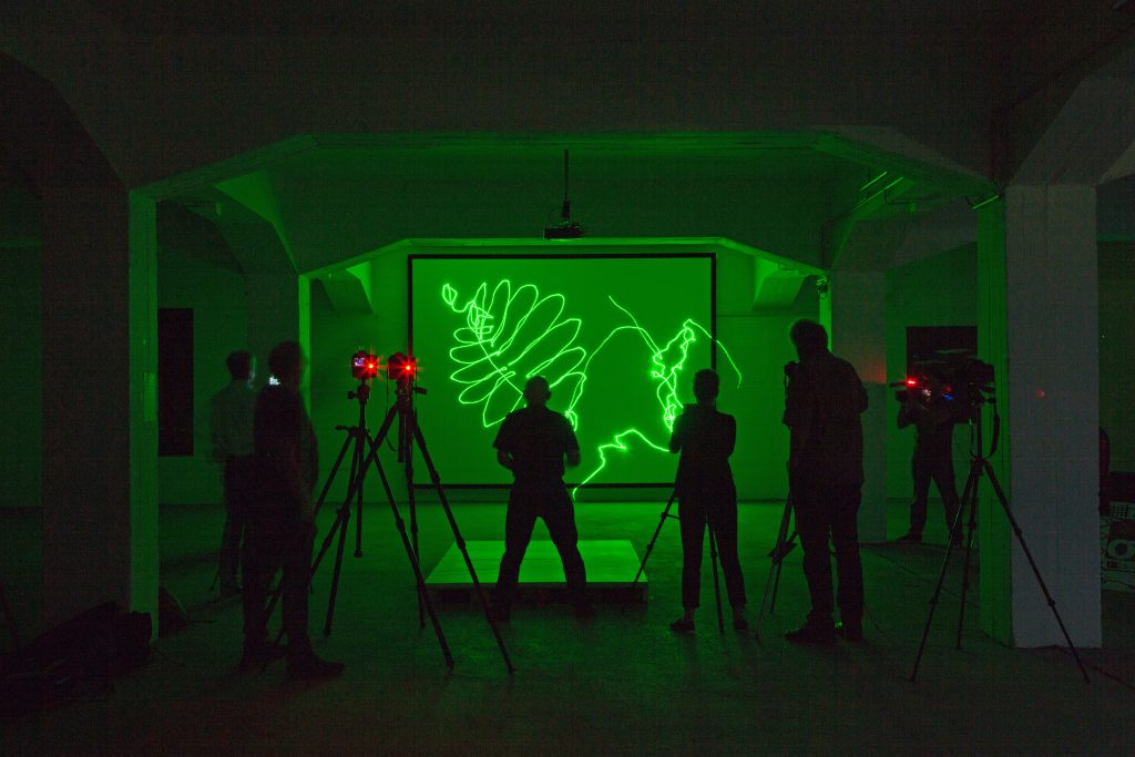 Klaus Maßem, Kunstraum generator